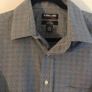 Men's Patterned Dress Shirt